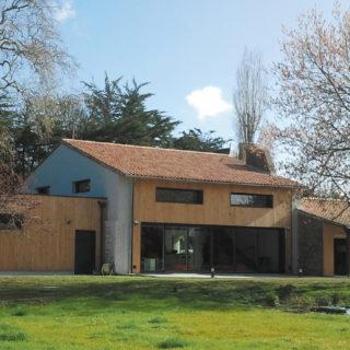 rénovation extension bardage bois (après)